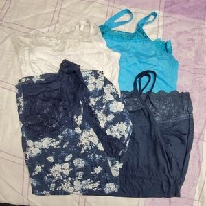 4 maurices tank tops